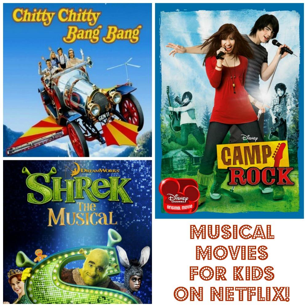 Movie Musicals for Kids on Netflix