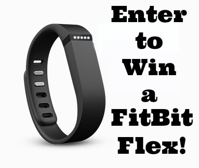 Enter to win a FitBit Flex