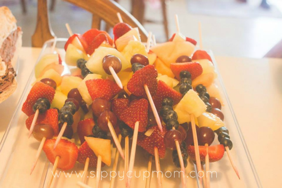 Fruit Kabobs Party