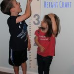 DIY Height Chart: They are Growing Like Weeds, Make Sure You Save Those Memories!