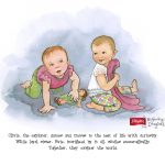 Introducing the Playtex Baby Beginnings Imagined Program: Win a Custom Illustration! #MomTrust