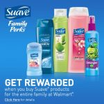 Join Suave Family Perks and Earn Walmart Gift Cards {$25 Walmart Gift Card Giveaway}