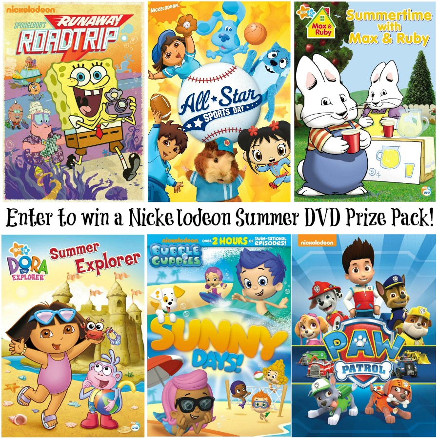 Win a Nickelodeon Summer DVD Prize Pack
