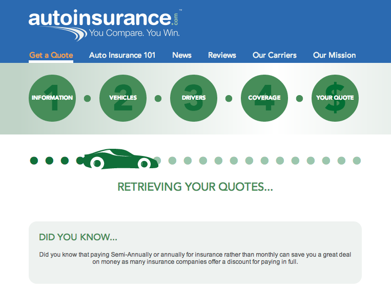 Esurance Car Insurance >> 1 Quotes Esurance Retrieve Quote Affordable Car Insurance