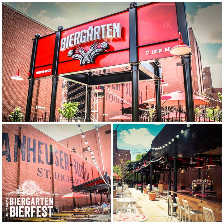 Biergarten Bierfest Collage