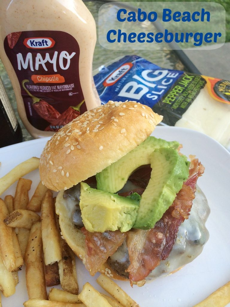 Cabo Beach Cheeseburger