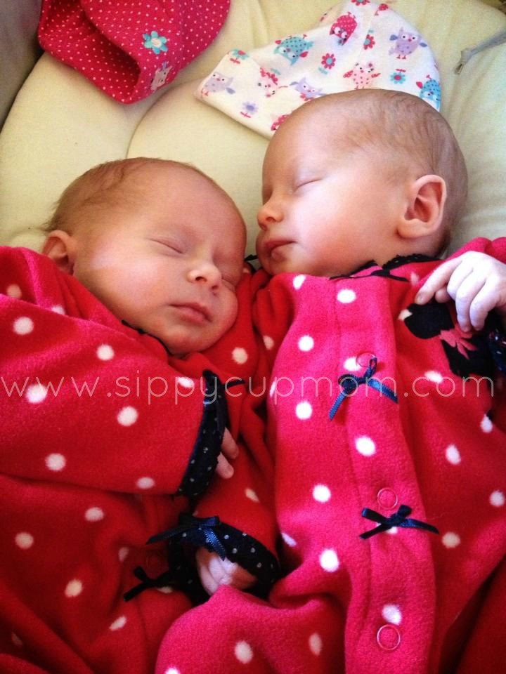 Olivia and Evie Babies