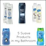 5 Suave Products in my Bathroom + $25 Walmart Gift Card Giveaway