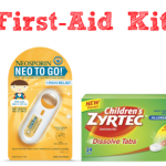 My Summer First-Aid Kit for Kids #Moms4JNJConsumer