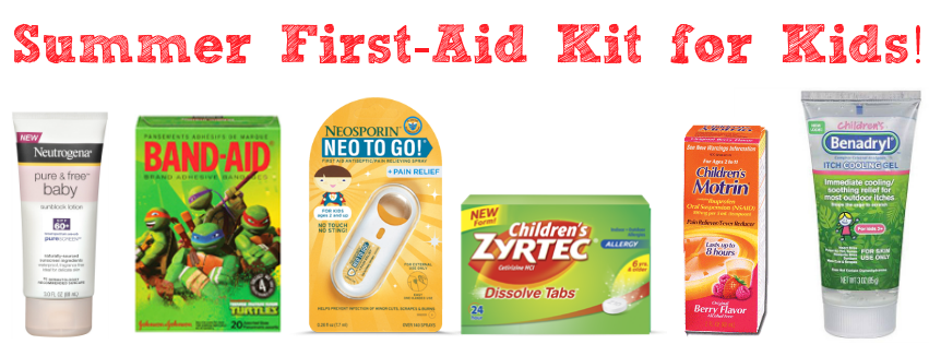 Summer First Aid Kit for Kids
