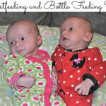 Tips for Breastfeeding and Bottle Feeding Twins