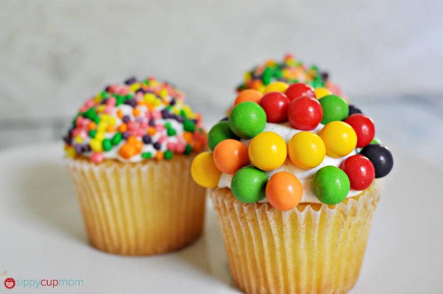 Gobstopper Cupcakes