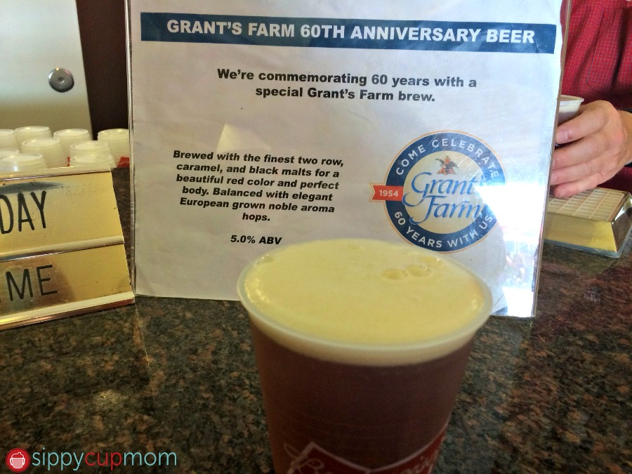 Grant's Farm 60th Anniversary Beer