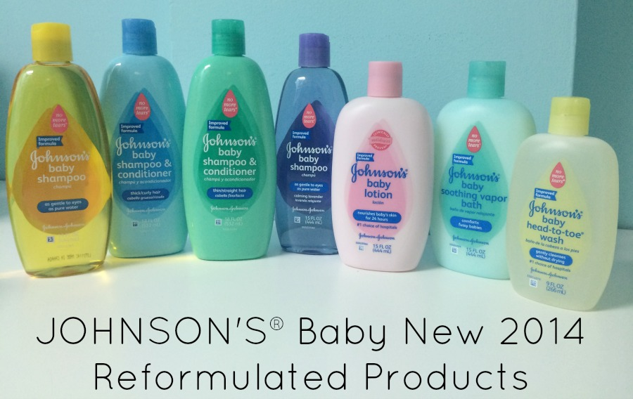 JOHNSON'S Baby Reformulated Products