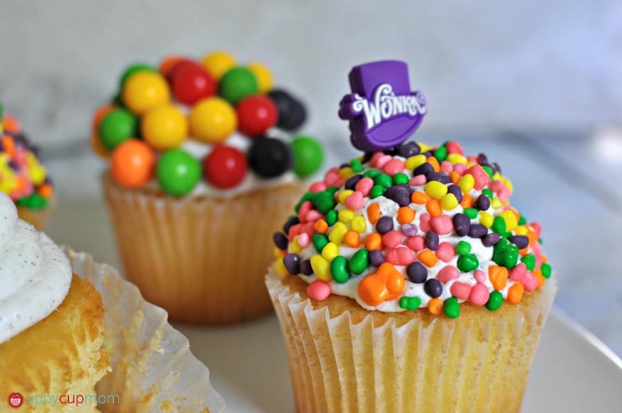 Nerds Cupcakes