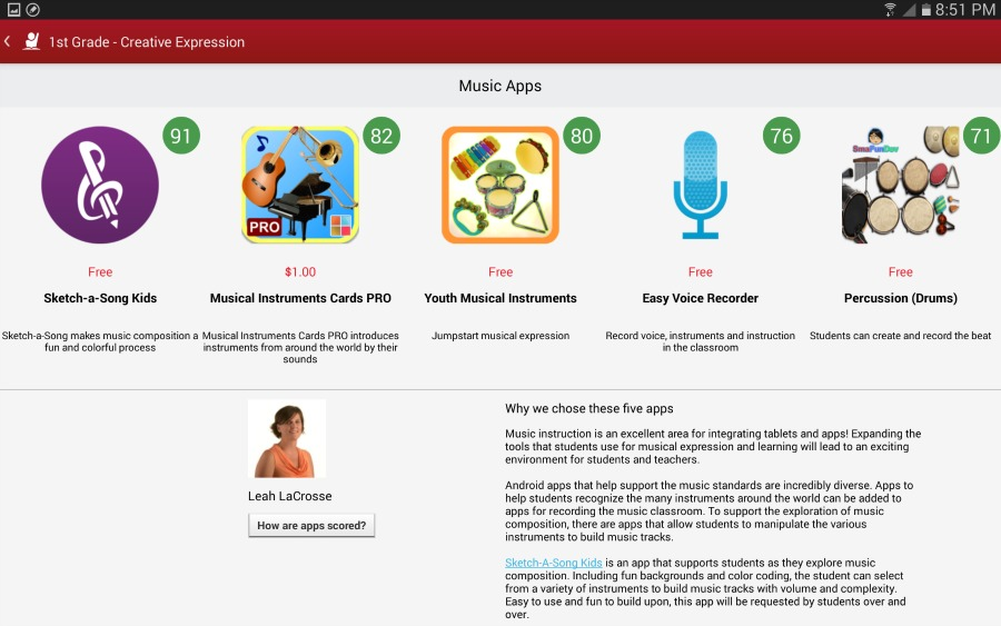 Verizon Educational Tools Creative Expression Apps