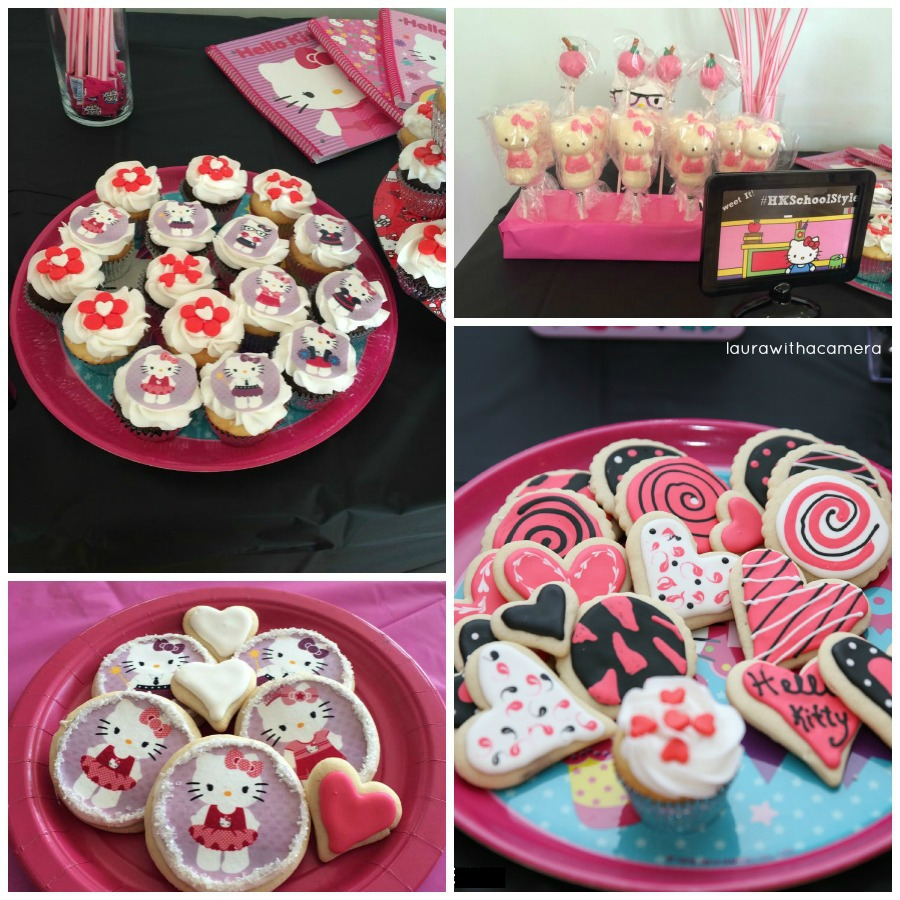 Hello Kitty Party Desserts