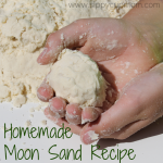 Homemade Moon Sand Recipe!