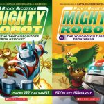 Kids Book Series: Adventures with Ricky Ricotta + Giveaway