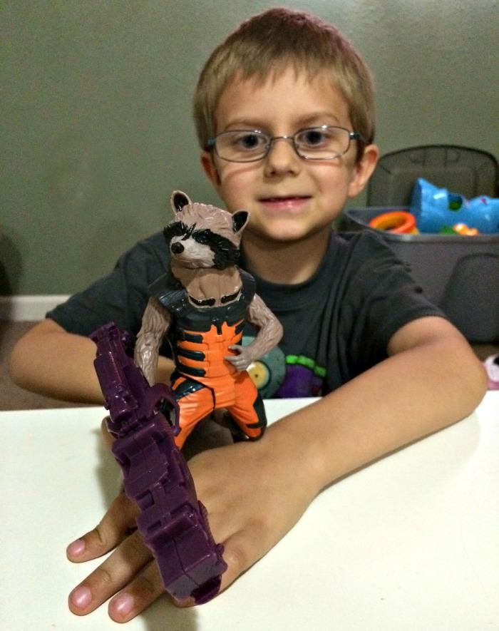 Rocket Raccoon Toy