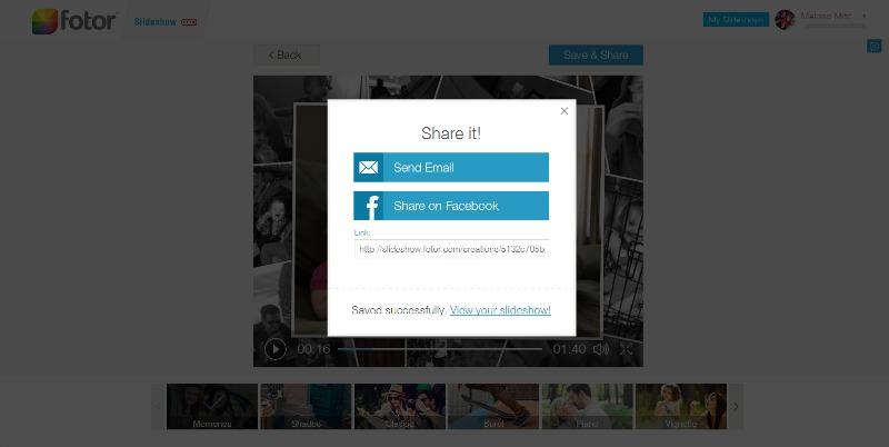Snapshots Template   Fotor Slideshow 2