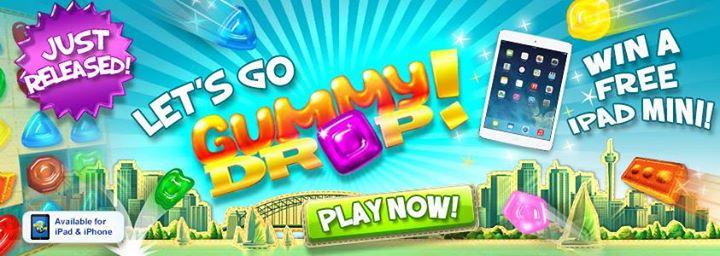 Win an iPad Mini in the Gummy Drop! Sweepstakes!