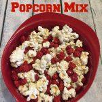 Baseball Popcorn Mix