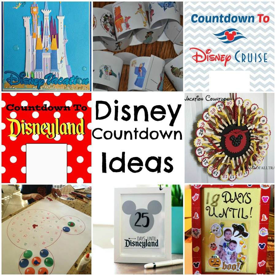 Disney Countdown Ideas