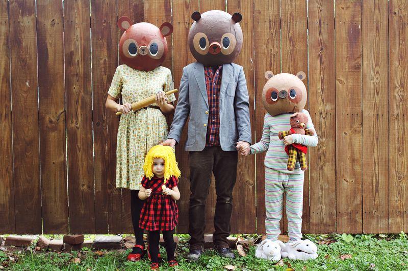 Goldilocks and Three Bears Costume