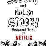 What To Watch on Netflix for Halloween #StreamTeam