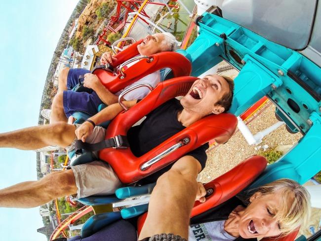 Hero lifestyle rollercoaster