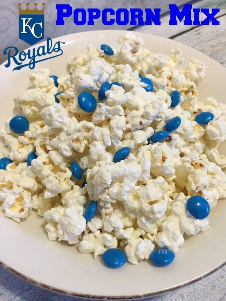 KC Royals Popcorn Mix