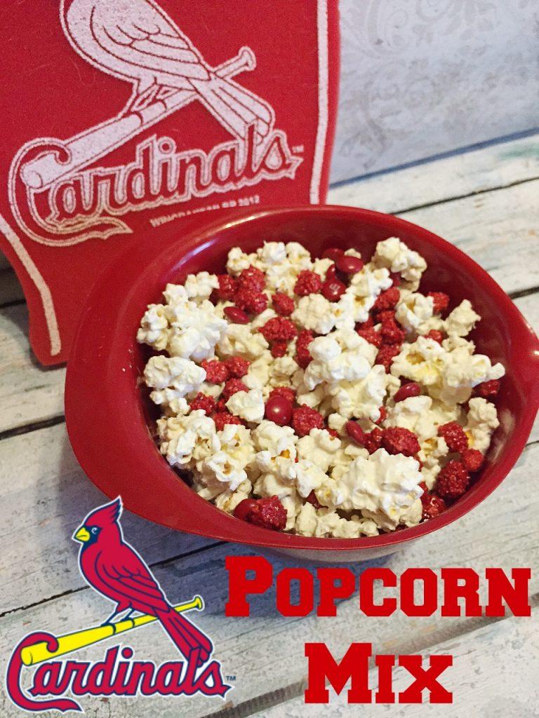 St. Louis Cardinals Popcorn Mix