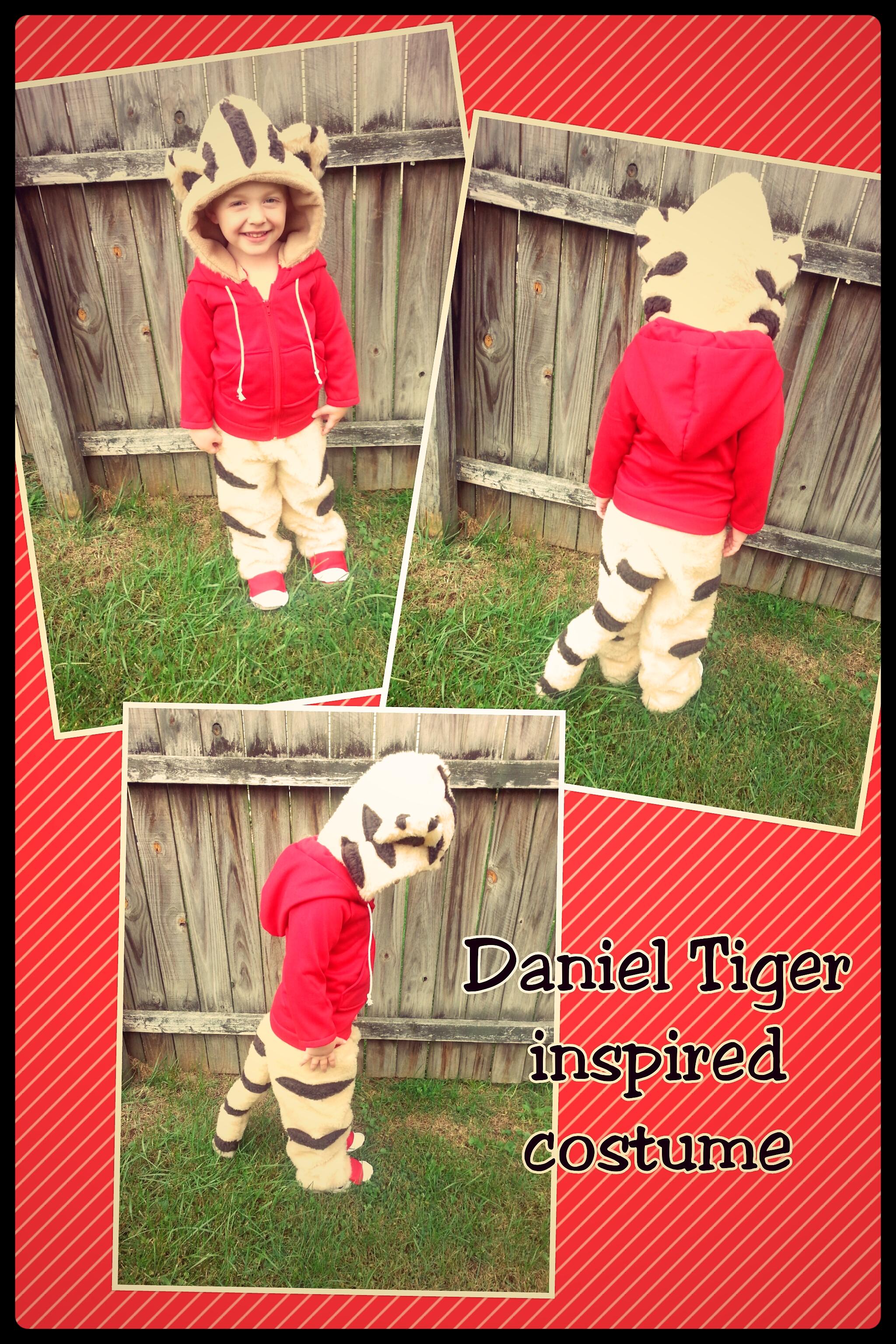 Diy Daniel Tiger Costume Sippy Cup Mom