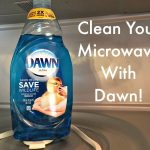 Cleaning Your Microwave with Dawn Dish Soap