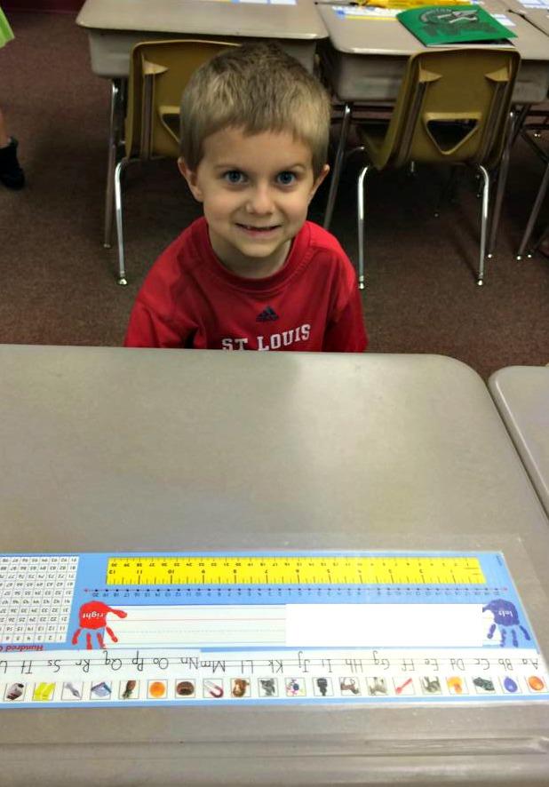 Hayden at School
