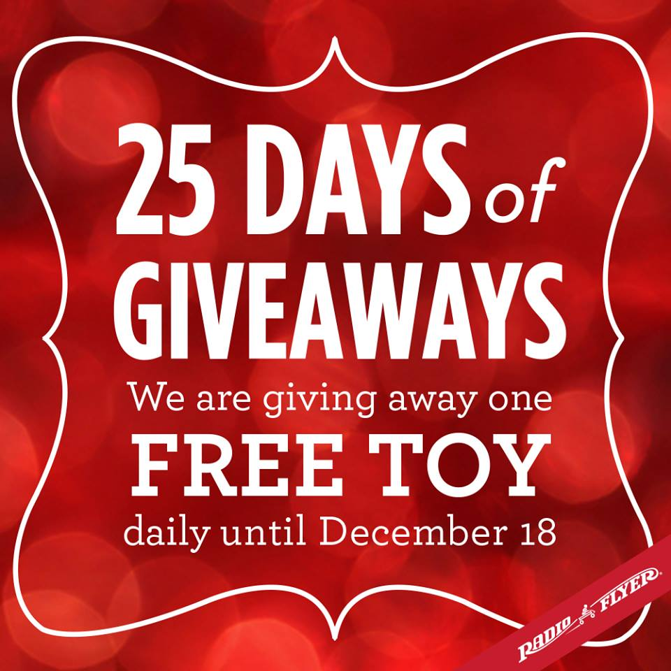 Radio Flyer Giveaways