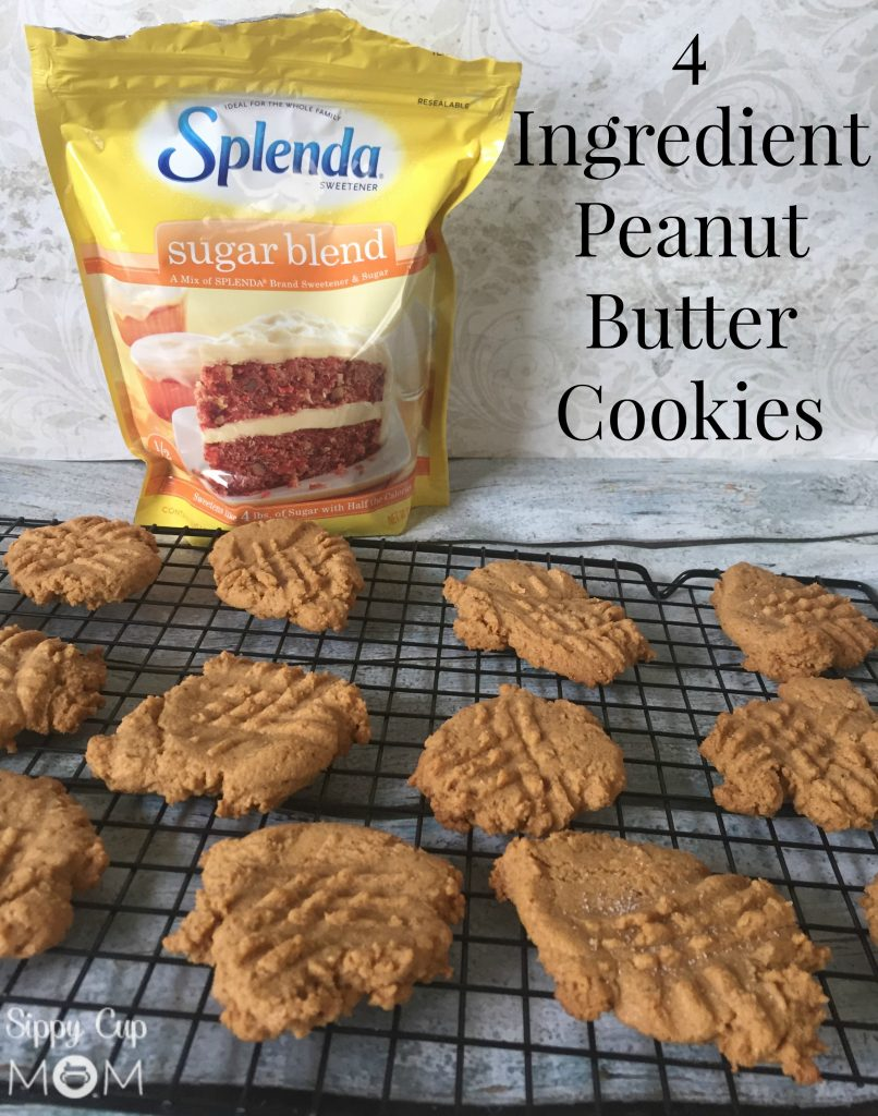 4 Ingredient Peanutt Butter Cookies