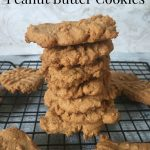 Four Ingredient Peanut Butter Cookies #SweetSwaps