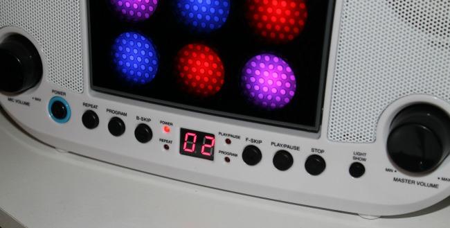 Karaoke close up