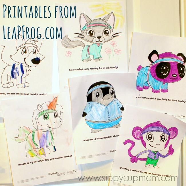LeapFrog Printables