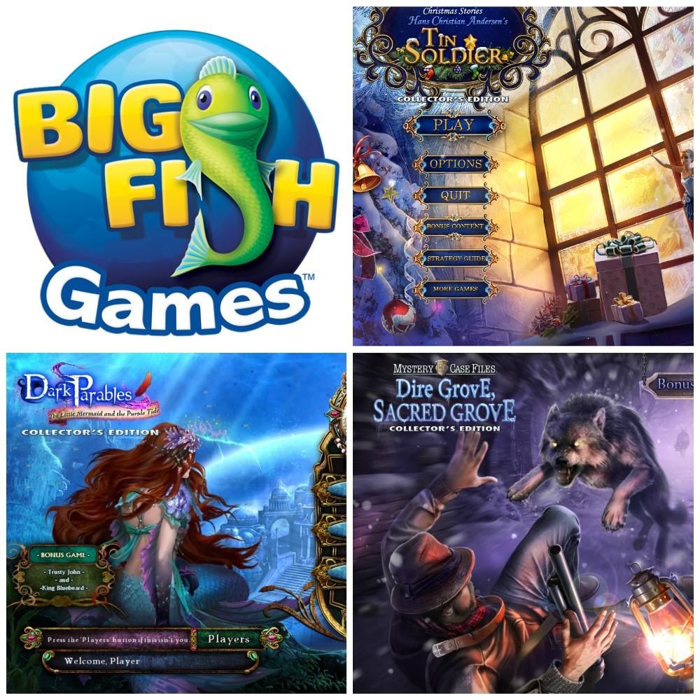 New Big Fish Games