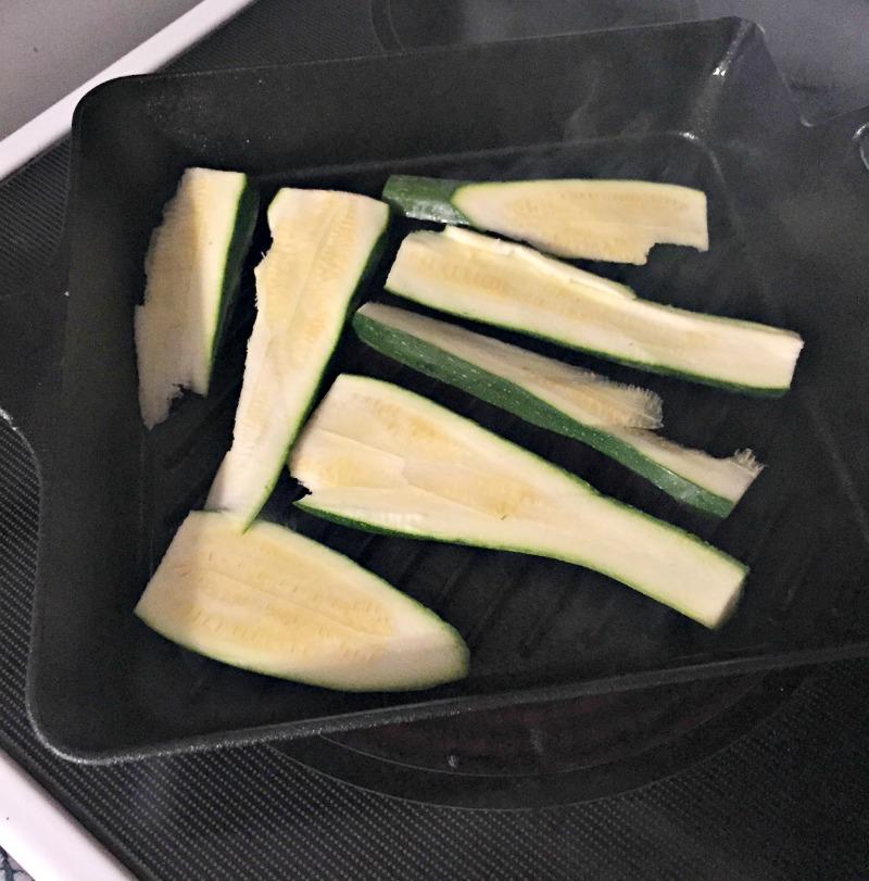 Grilled Zucchinni