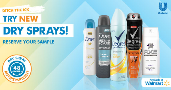 #TryDry at Walmart Brands