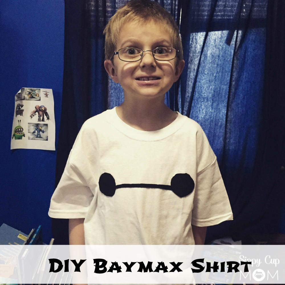 71be644b9 Big Hero 6 on DVD + DIY Baymax Shirt - Sippy Cup Mom