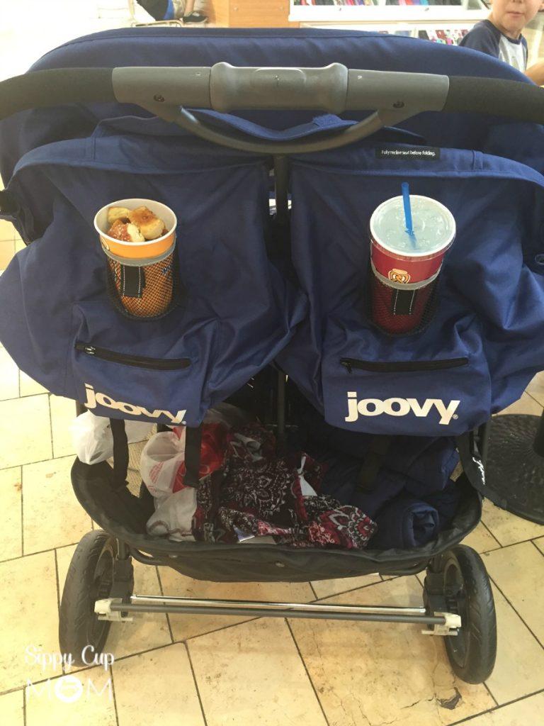 Joovy Scooter X2 Stroller Storage