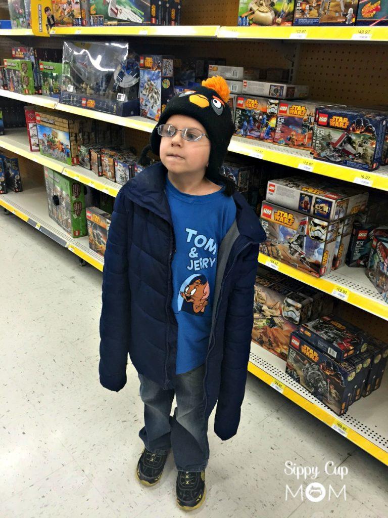 Shopping the Lego Aisle