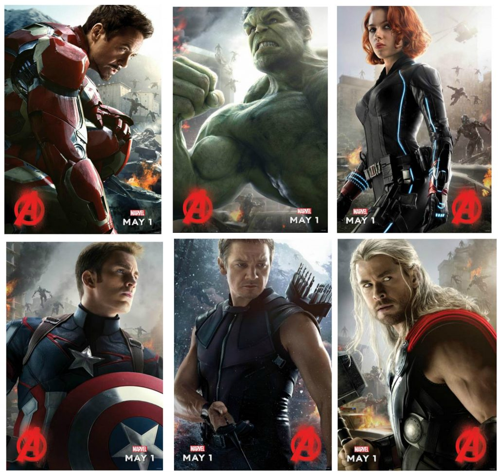 Avengers Age of Ultron Posters