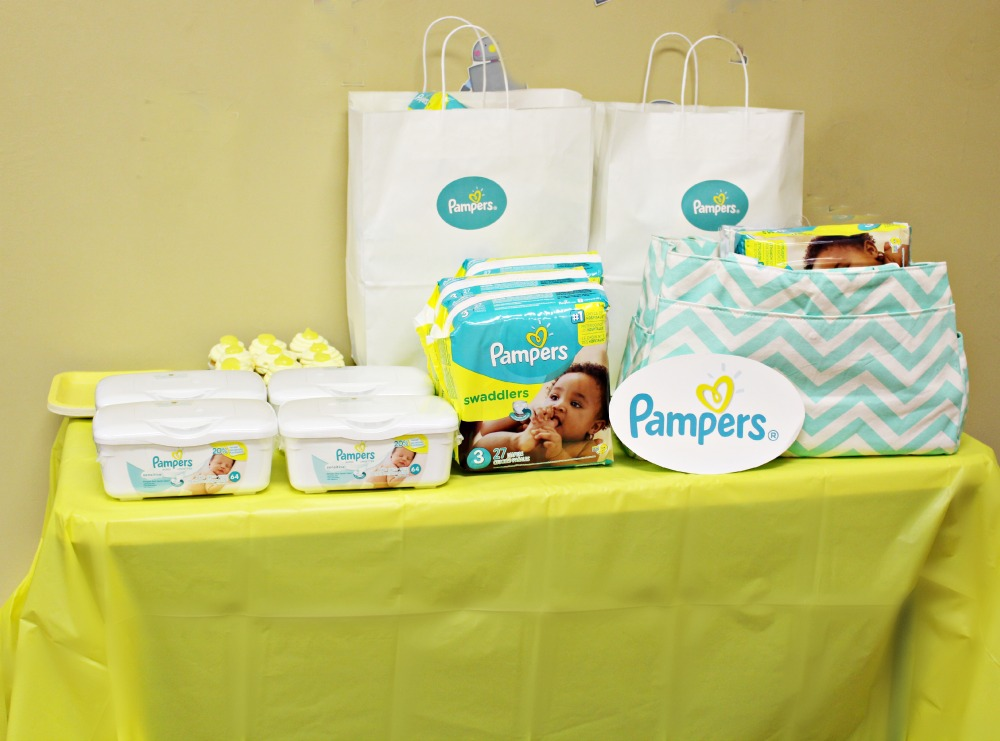 Pampers Party Table