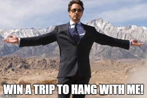 Win a Trip to The Avengers: Age of Ultron Premier and Hang with Robert Downey Jr.!